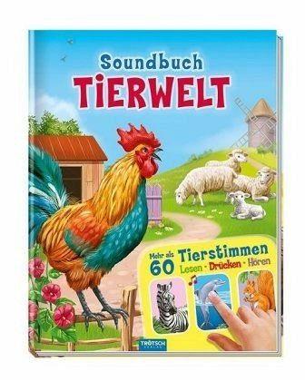 Gebundenes Buch »Soundbuch Tierwelt«