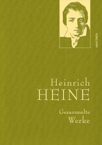 Buch mit Leinen-Einband »Heinrich Heine - Gesammelte Werke«