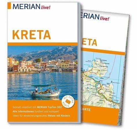 Broschiertes Buch »MERIAN live! Reiseführer Kreta«