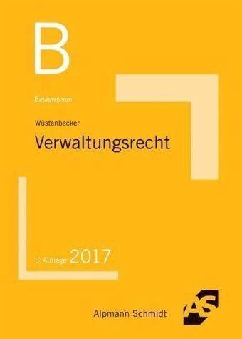 Broschiertes Buch »Basiswissen Verwaltungsrecht«