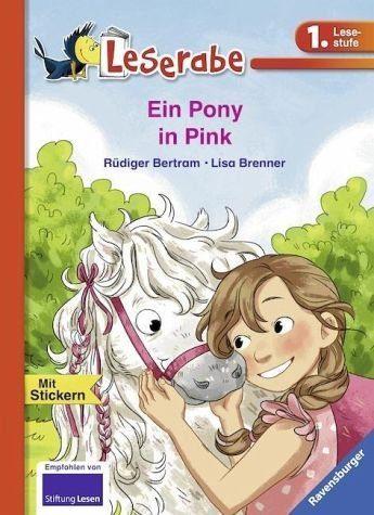 Gebundenes Buch »Ein Pony in Pink«
