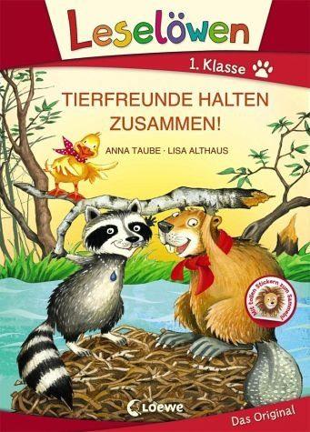 Gebundenes Buch »Leselöwen 1. Klasse - Tierfreunde halten...«