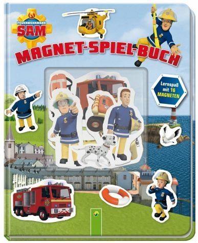 Gebundenes Buch »Feuerwehrmann Sam Magnet-Spiel-Buch«