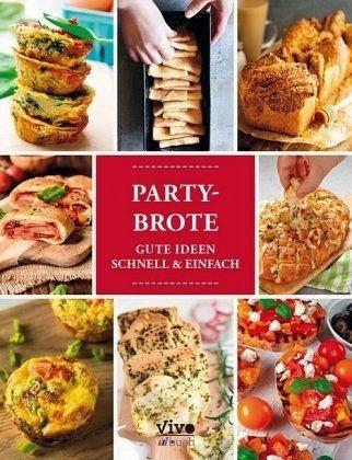Gebundenes Buch »Partybrote«