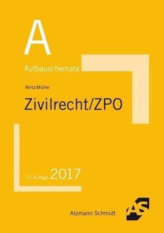 Broschiertes Buch »Aufbauschemata Zivilrecht / ZPO«