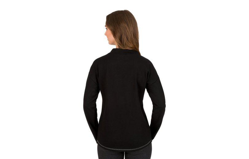 TRIGEMA Stehkragen Sweatshirt mit Stehkragen TRIGEMA Sweatshirt Sweatshirt Stehkragen Sweatshirt mit TRIGEMA mit mit TRIGEMA xRnCqHS