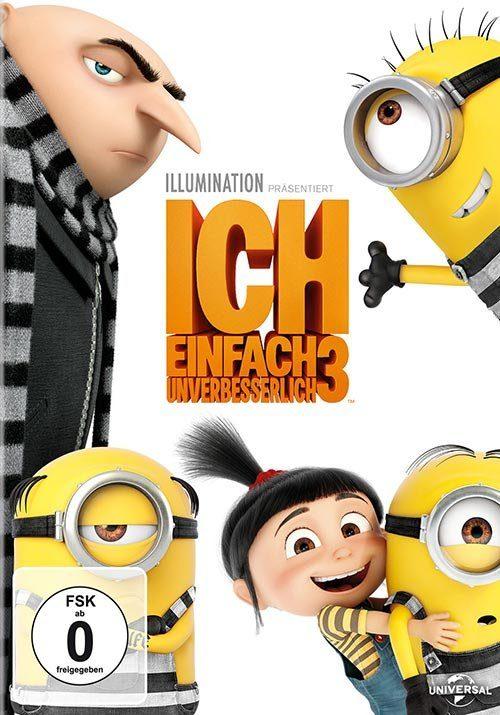 Universal DVD - Film »Ich - Einfach unverbesserlich 3«