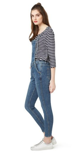 Tom Tailor Denim 7/8-jeans Latzhose Dungaree Slim
