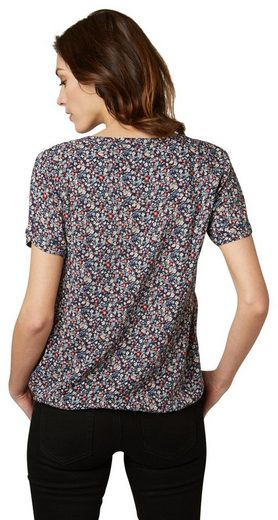 Tom Tailor Shirt Blouse With A Floral Pattern