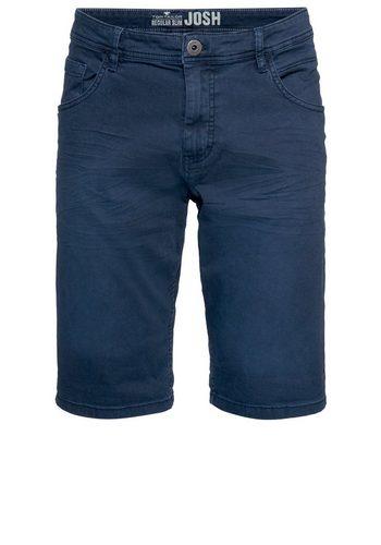 - Herren Tom Tailor Jeansbermudas Jim Slim Bermuda blau | 04059491801753