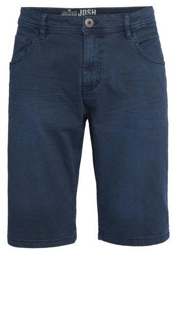 Tom Tailor Jeansbermudas »Jim Slim Bermuda« | Bekleidung > Shorts & Bermudas > Jeans Bermudas | Blau | Baumwolle | Tom Tailor