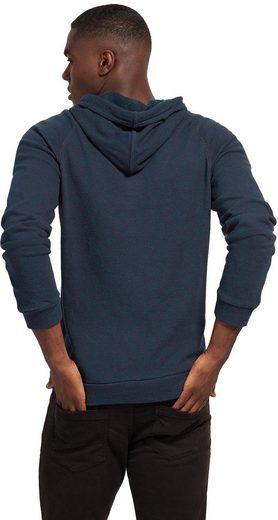 Tom Tailor Sweater Sweat-Hoodie mit Schrift-Print