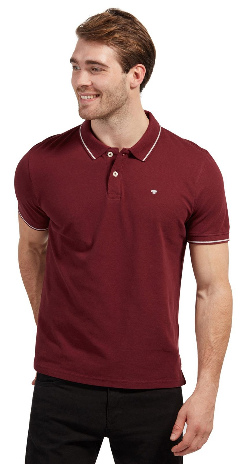 Tom Tailor T-Shirt »Schlichtes Polo-shirt«