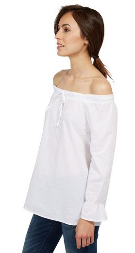 Tom Tailor Shirtbluse feminine Carmen-Bluse