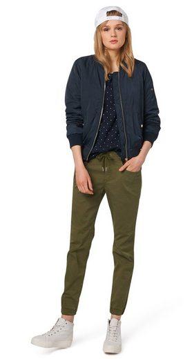 Tom Tailor Denim Shirtbluse Tunika Mit Stern-print