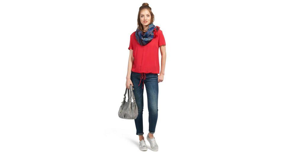 Tom Tailor Shirtbluse mit Bindeband am Saum Reduzierter Preis Bestes Geschäft Zu Erhalten Online-Verkauf Rabatt Mit Kreditkarte sVgC7B