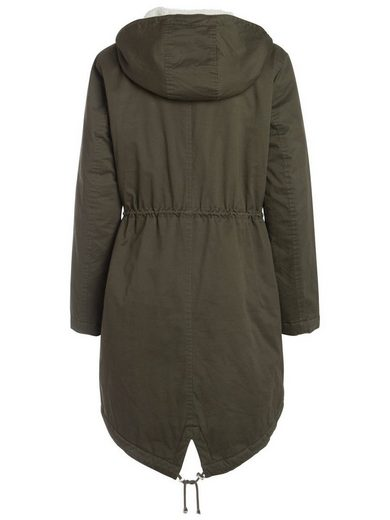 Pieces Lange Winter Jacke