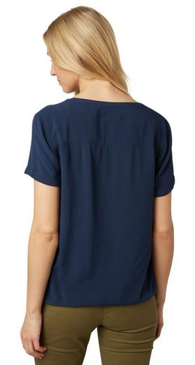 Tom Tailor Shirtbluse mit Patches