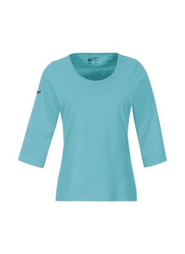 TRIGEMA 3/4 Arm Shirt aus Biobaumwolle