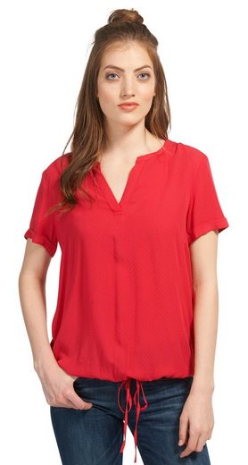 Tom Tailor Shirtbluse mit Bindeband am Saum