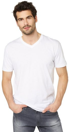 Tom Tailor T-Shirt V-Neck im Doppelpack