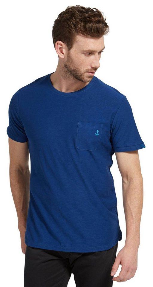 tom tailor t shirt mit anker stickerei kaufen otto. Black Bedroom Furniture Sets. Home Design Ideas