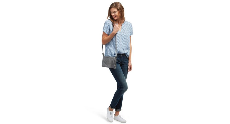 Tom Tailor Shirtbluse mit V-Ausschnitt Verkauf Vermarktbare Erhalten Verkauf Online Kaufen Verkauf Perfekt jKh3h