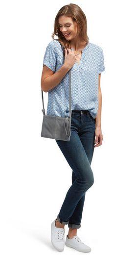 Tom Tailor Shirtbluse mit V-Ausschnitt