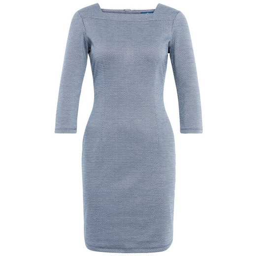 Tom Tailor A-Linien-Kleid aus gemustertem Jacquard
