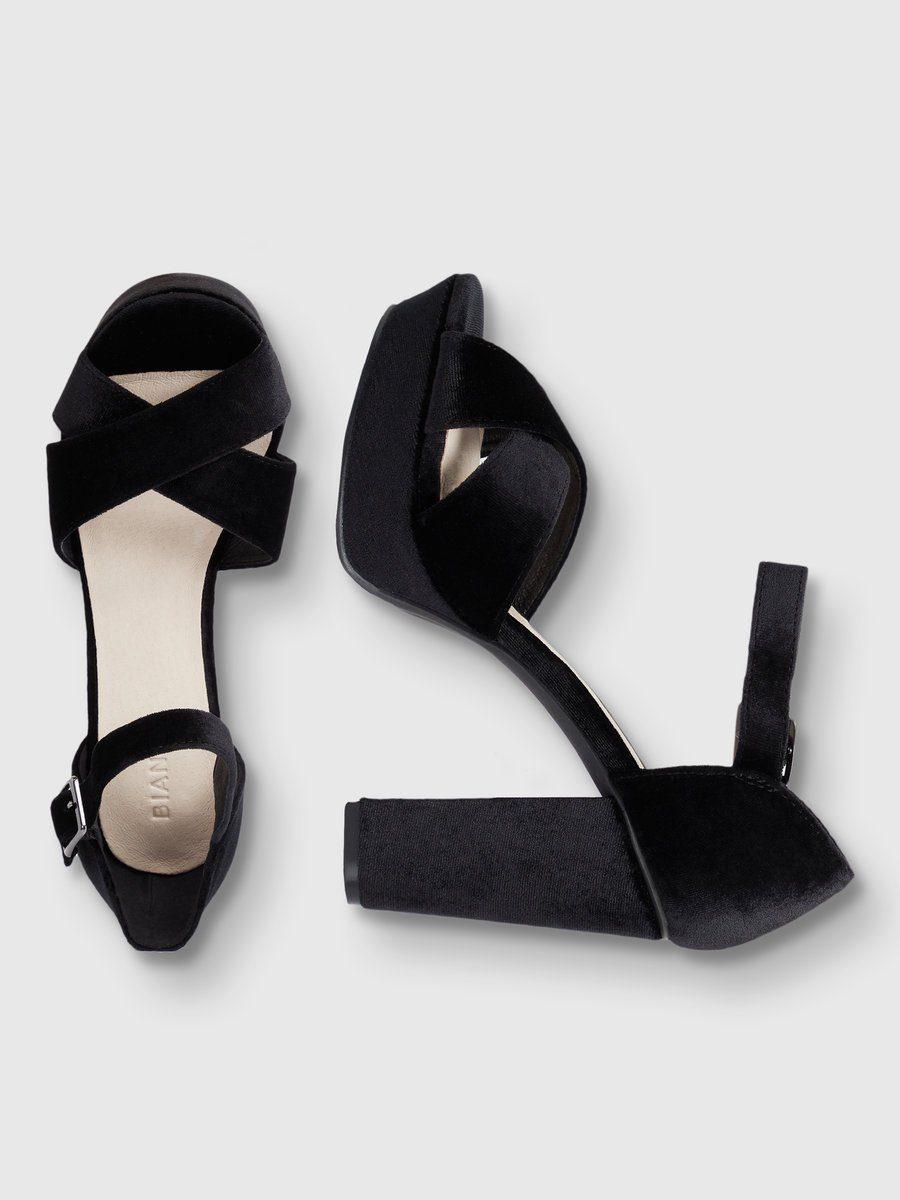 Bianco Schlichte Basic- Sandalen online kaufen  BLACK 3