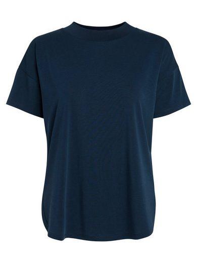 Pieces Klassisches, einfarbiges T-Shirt