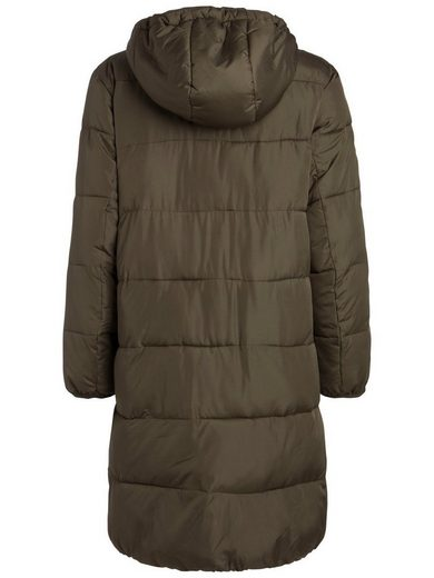 Pieces Lange Daunen Jacke