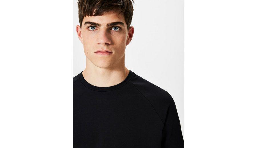 Selected Homme Rundhalsausschnitt T-Shirt Niedriger Versand Günstige Preise Niedriger Versandverkauf Online Perfekt Günstig Online Billig Verkauf Extrem 86OUB5rd