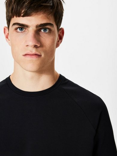 Selected Homme Rundhalsausschnitt T-shirt