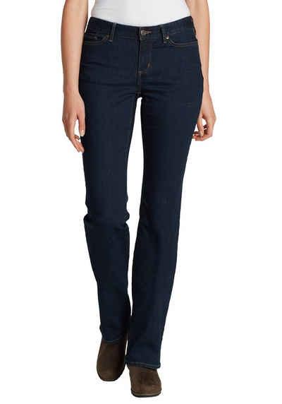 984017f3c088bb Eddie Bauer 5-Pocket-Jeans, Curvy Джинсы клеш