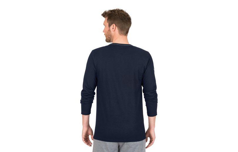 TRIGEMA Langarmshirt aus Biobaumwolle Billig Wie Viel 5EfLl4E