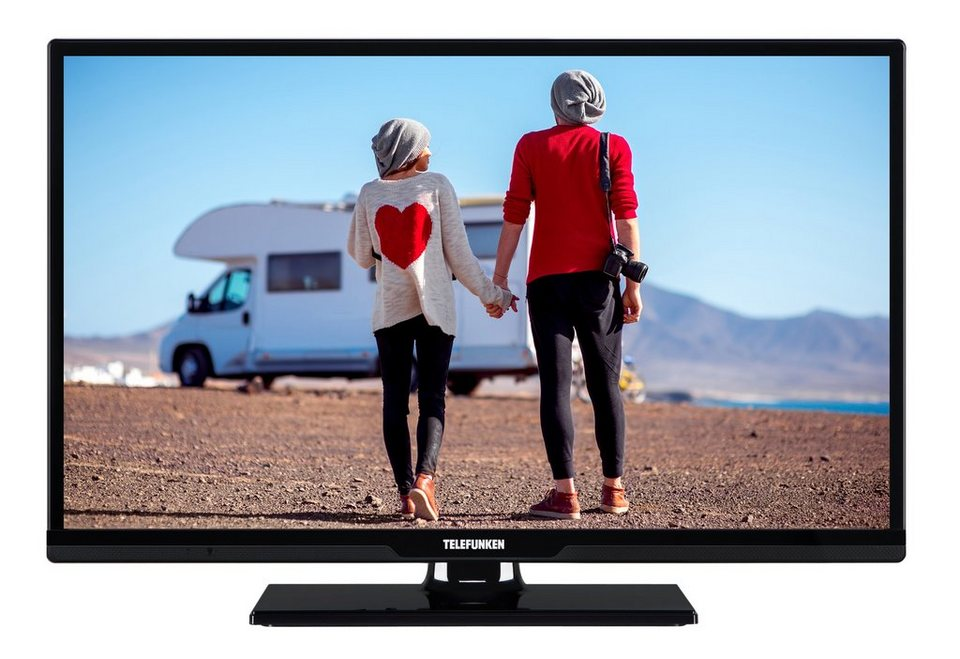 telefunken led fernseher 24 zoll smart tv hd ready dvb. Black Bedroom Furniture Sets. Home Design Ideas