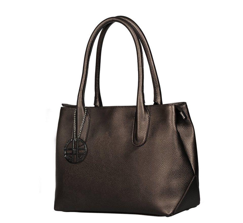 silvio tossi handtasche mit spezialschutzschicht und markenanh nger online kaufen otto. Black Bedroom Furniture Sets. Home Design Ideas