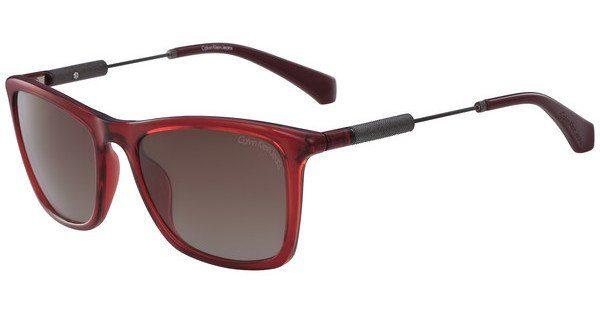 Calvin Klein Damen Sonnenbrille » CKJ490S«, rot, 619 - rot/braun