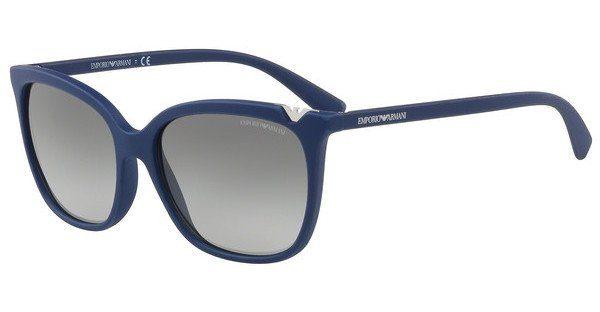 Emporio Armani Damen Sonnenbrille » EA4094«, schwarz, 501711 - schwarz/grau