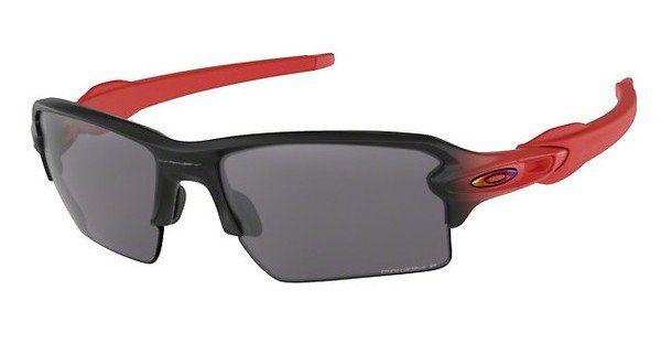 Oakley Herren Sonnenbrille »FLAK 2.0 XL OO9188«, rot, 918866 - rot/schwarz