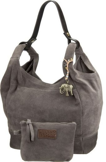 Anokhi Handbag Cheyenne Suede Helped Shiny