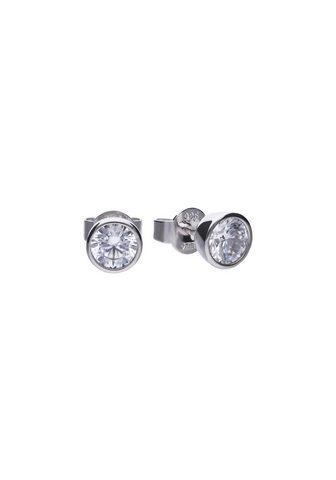 DIAMONFIRE Auskarai »925/- Sterling Silber rhod. ...