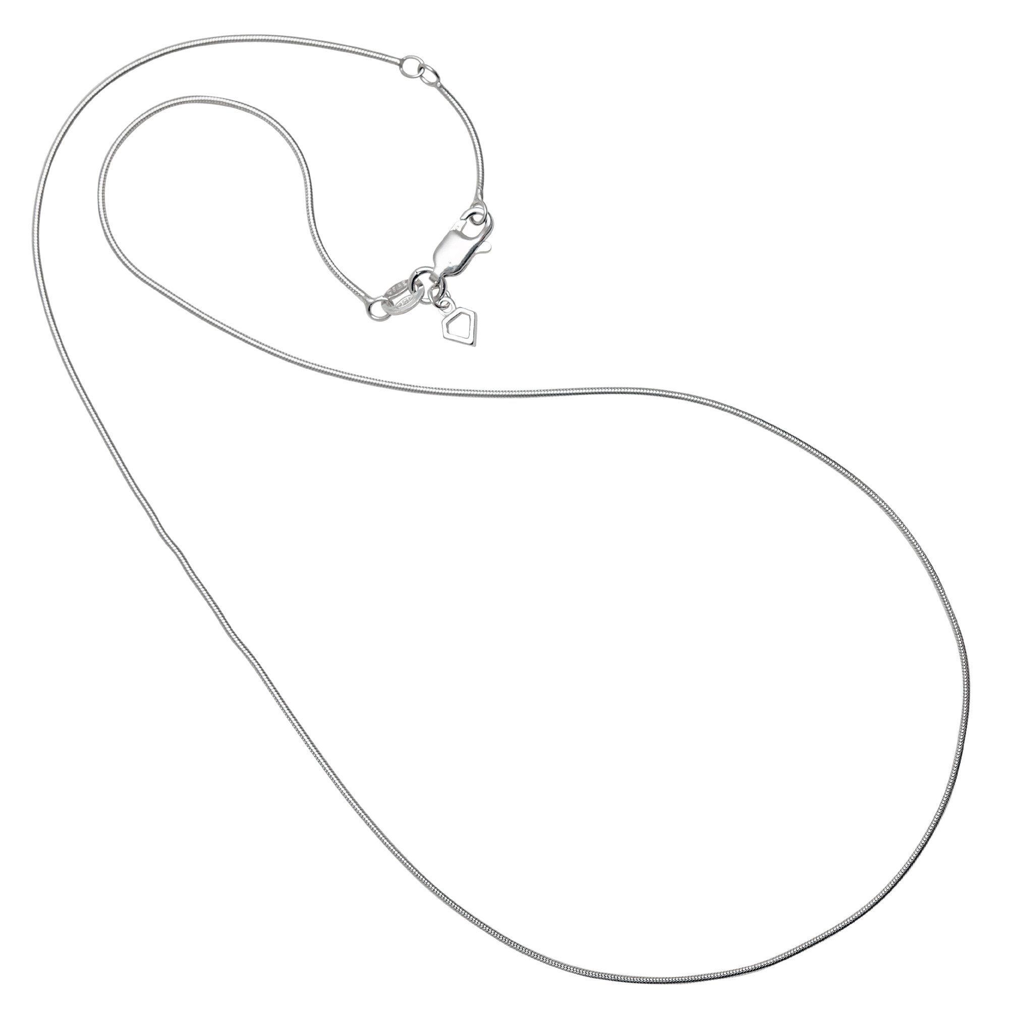Diamonfire Kette »925/- Sterling Silber rhod. Schlangenkette«