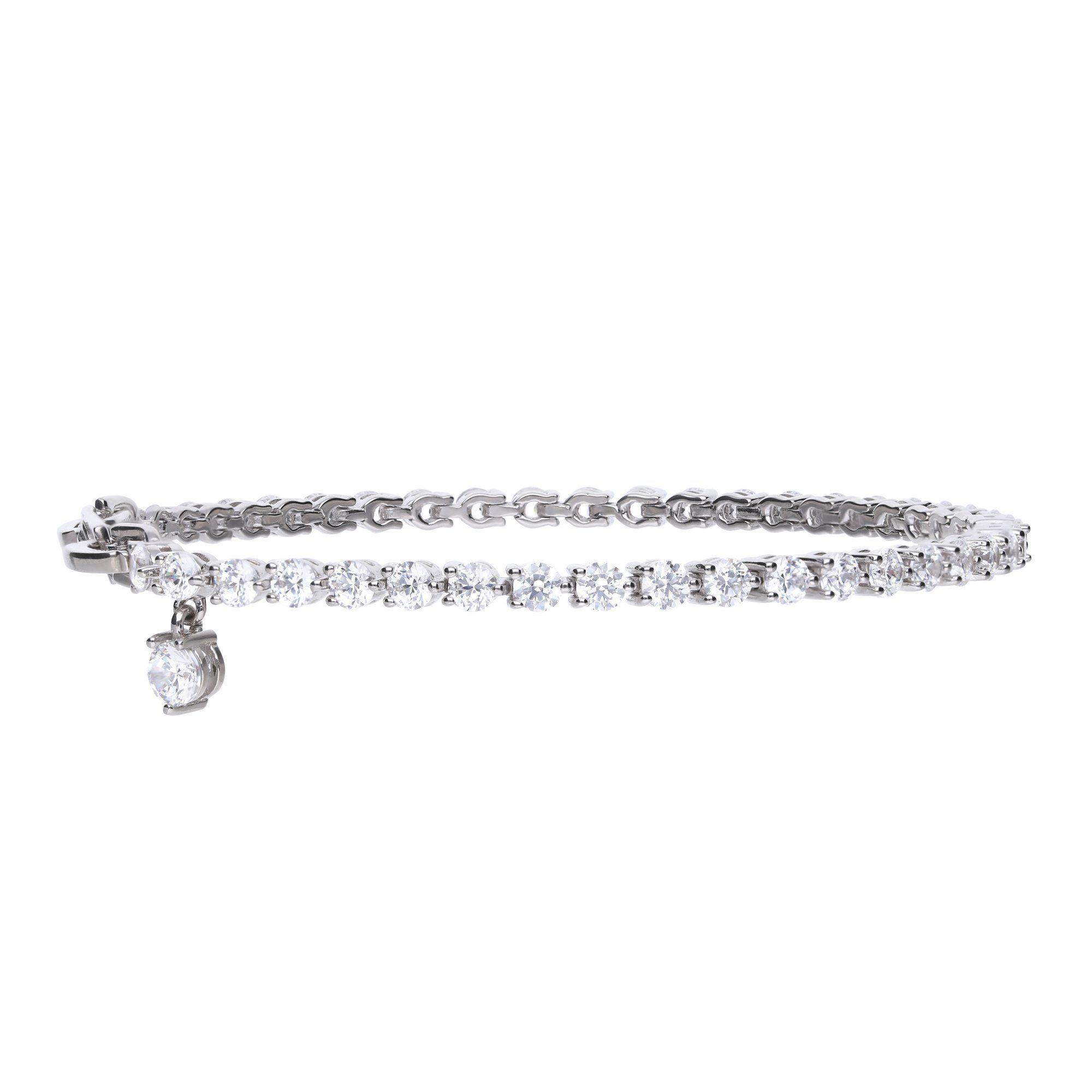 Diamonfire Armband »925/- Sterling Silber rhod. mit 43 Zirkonia«
