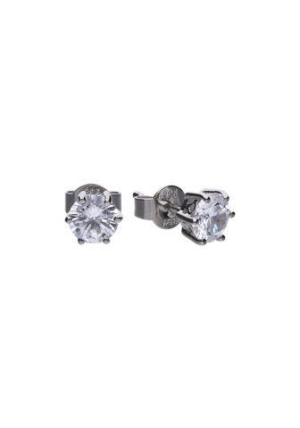 DIAMONFIRE Auskarai »925/- Sterling Silber su 2x ...