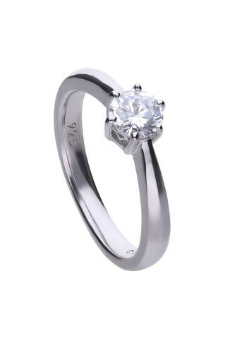 DIAMONFIRE Žiedas »925/- Sterling Silber rh. Soli...