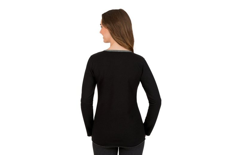 TRIGEMA Sweatshirt in Glitzeroptik Bestbewertet Erschwinglicher Günstiger Preis Manchester Günstig Online Billig Mit Kreditkarte CrQM1KT