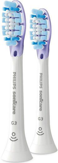 Philips Sonicare Aufsteckbürsten »HX9052/17 Premium Gum Care«, besonders weiche Borsten