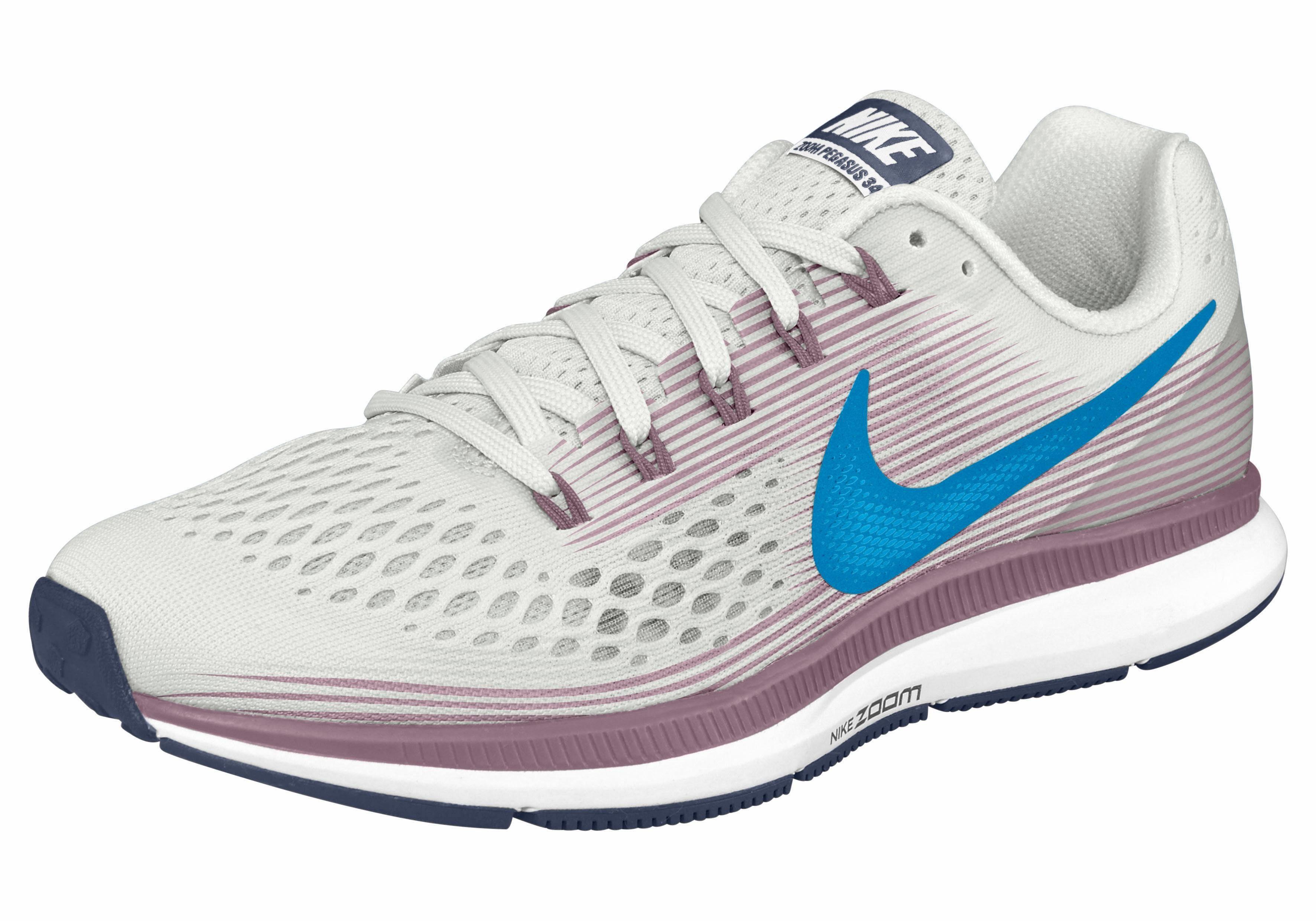 Nike Wmns Air Zoom Pegasus 34 Laufschuh kaufen  offwhite-blau